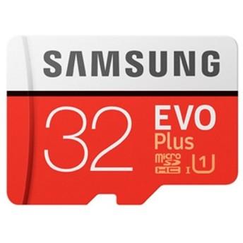 32GB Samsung サムスン microSDHCカード EVO Plus Class10 UHS-I R:最大80MB/s SDアダプター付 海外リテール MB-MC32GA/APC