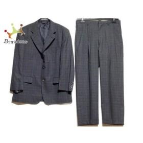 ブルックスブラザーズ シングルスーツ サイズ38SHT 32W メンズ ダークグレー×グリーン  値下げ 20190810