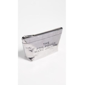 マーク ジェイコブス Marc Jacobs レディース ポーチ Large Trapeze Cosmetic Case Silver