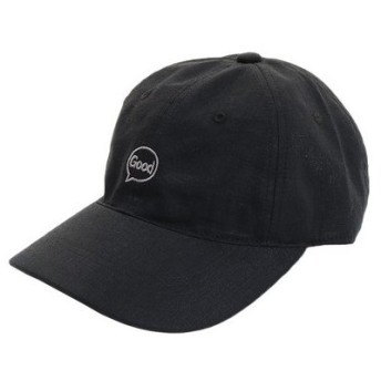 PGAC(PGAC) リネン刺繍キャップ Good 897PA9ST1756 BLK (Men's)
