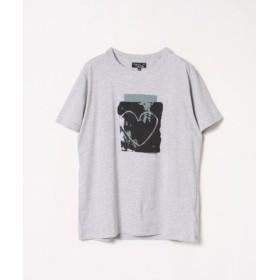 (agnes b./アニエスベー)【ユニセックス】SJ47 TS アーティストTシャツ/ユニセックス グレー 送料無料