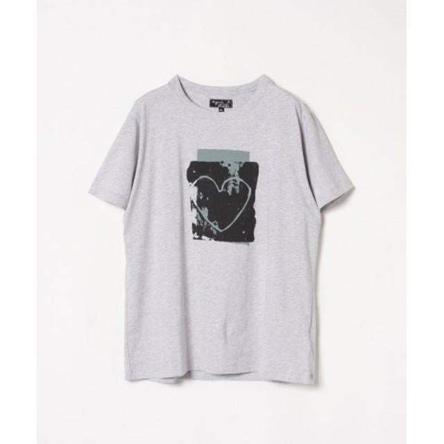 (agnes b./アニエスベー)【ユニセックス】SJ47 TS アーティストTシャツ/ユニセックス グレー