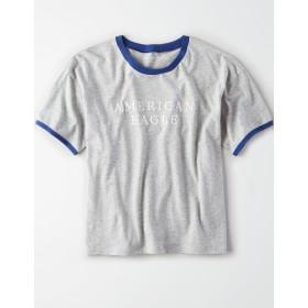【アメリカンイーグル】AEリンガーグラフィックTシャツ