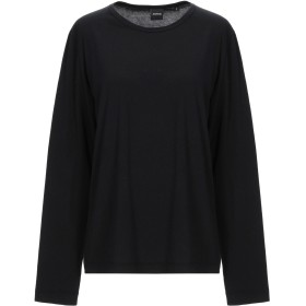 《期間限定 セール開催中》ASPESI レディース T シャツ ブラック S コットン 100%