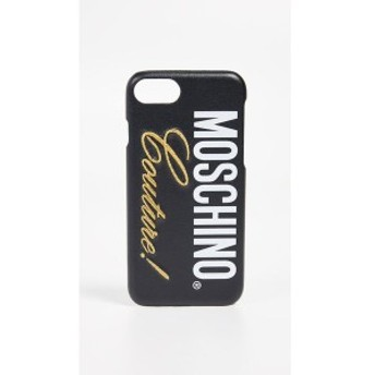 モスキーノ Moschino レディース iPhone (8)ケース Couture! iPhone 7 / 8 Case Fantasy Print Black