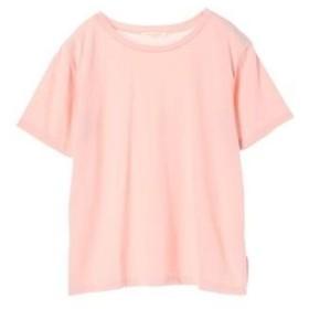 グリーンパークス Green Parks クルーネックTシャツ (Light Pink)