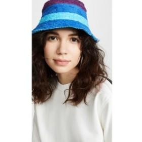 バーンストック スピアーズ Bernstock Speirs レディース ハット 帽子 Towel Bucket Hat Blue