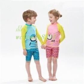 水着セット 子供 ショートパンツ 新作 UVカット 長袖 夏物 温泉 男の子 ビーチ キッズ スイミングウェア プール 子ども ラッシュガード