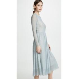 オンリー ハーツ Only Hearts レディース ワンピース ワンピース・ドレス Floral Tulle Midi Dress Green Ditsy