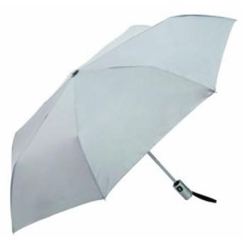DCMブランド 自動開閉折りたたみ傘 55cm グレー