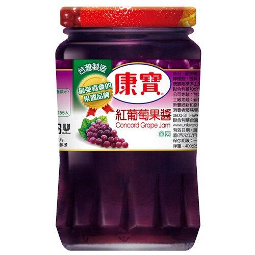 康寶葡萄果醬400g 【合迷雅好物商城】