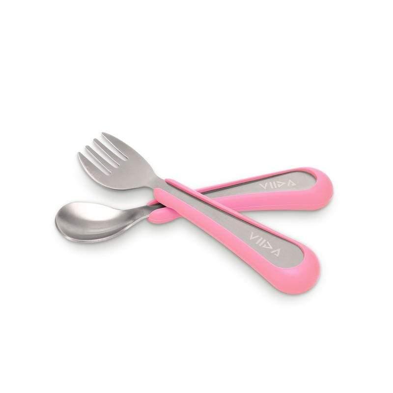 Soufflé 抗菌不鏽鋼叉匙組 (S) -五色 Soufflé 抗菌不鏽鋼叉匙組(S) - 萊姆黃