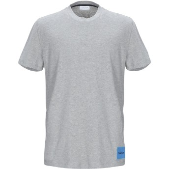《期間限定セール開催中!》CALVIN KLEIN メンズ T シャツ グレー XS コットン 100%
