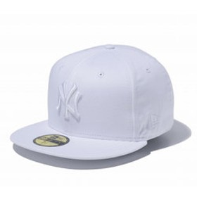 【Super Sports XEBIO & mall店:帽子】59FIFTY MLB ニューヨーク・ヤンキース ホワイト × ホワイト 11308530