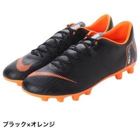 ナイキ ヴェイパー 12 PRO HG (AH8760 081) サッカー スパイクシューズ : ブラック×オレンジ NIKE