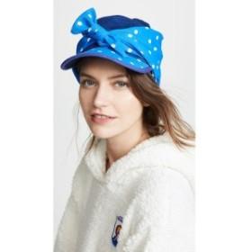 バーンストック スピアーズ Bernstock Speirs レディース 帽子 Polka Dot Scarf Cap Blue