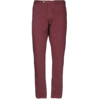 《期間限定セール開催中!》J.W. SAX Milano メンズ パンツ ボルドー 48 コットン 98% / ポリウレタン 2%