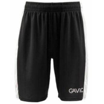 【ガビック/GAVIC】 サッカー フットサル トレーニングウェア プラクティスパンツ ブラック ホワイト GA8272-BLKWHT