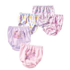 ショーツ5枚組(女の子 子供服。ジュニア服) (キッズ下着)