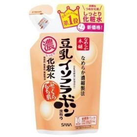 常盤薬品工業 サナ なめらか本舗 豆乳イソフラボン含有のしっとり化粧水 つめかえ用 180ml