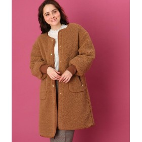 Couture Brooch(クチュールブローチ) 【WEB限定プライス】ボアキルトコート