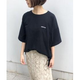aquagirl(アクアガール) ◆【WEB限定カラー】Americana サイドジップビッグTシャツ