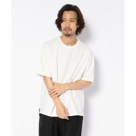 アンカットバウンド NCB neat caprice brand(エヌシービーニートカプリスブランド) ワイドスリットTシャツ メンズ WHITE S 【UNCUT BOUND】