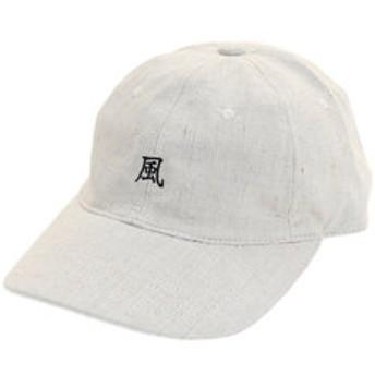【Super Sports XEBIO & mall店:帽子】風 リネン刺繍キャップ 897PA9ST1709 BEG