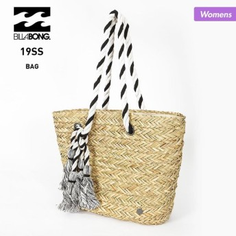 BILLABONG/ビラボン レディース トートバッグ かばん 鞄 ショルダーバッグ ビーチバッグ ストロー素材 AJ013-970