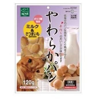 Dog PLUS やわらかパン ミルク&さつまいも 120g マルカン ヤワラカパンミルク&サツマイモ120G 返品種別B