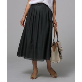 UNTITLED(アンタイトル) ◆【洗える】シルクコットンローンスカート
