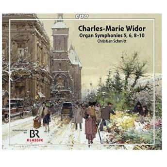 クリスティアン・シュミット ヴィドール: オルガン交響曲 第5.6.8-10番 SACD Hybrid