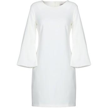 《セール開催中》TWENTY EASY by KAOS レディース ミニワンピース&ドレス ホワイト 46 88% ポリエステル 12% ポリウレタン