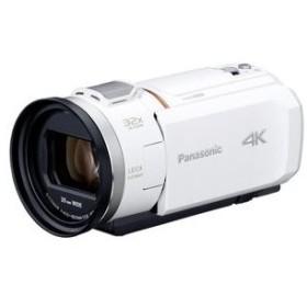 パナソニック HC-VX1M-W (ホワイト) ビデオカメラ 店頭展示品・付属品すべて有り・状態良好