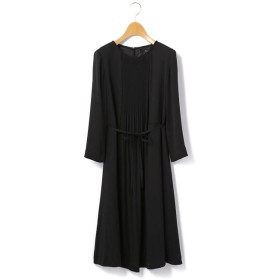 KEITH キース サテンジョーゼットドレス