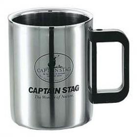 キャプテンスタッグ (CAPTAIN STAG) マグ・シェラカップ マレーダブルステン マグカップ420ml M1247