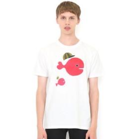 【グラニフ:トップス】Tシャツ/きんぎょ帽子(五味太郎)