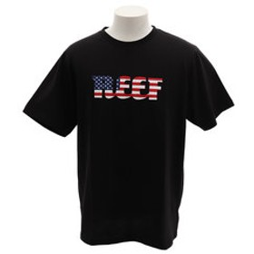 【Super Sports XEBIO & mall店:トップス】【オンライン特価】AMERICANA Tシャツ RF19SU-1001SS-BLK
