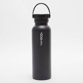 ティゴラ 水筒 保冷保温ステンレスボトル 600ml : ブラック TIGORA