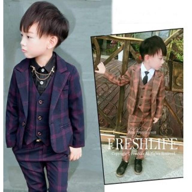 男の子 子供服 3点セットフォーマル 男の子 入園式 入学式  韓国子供服 フォーマル 七五三 スーツ 結婚式