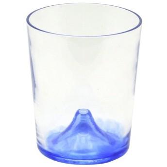 月夜野工房 富士山ビールグラス 青富士 T1-0674-B