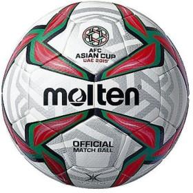 【クーポン発行中】 モルテン Molten サッカーボール 5号球 AFC アジアカップ2019 試合球 F5V5003A19U ホワイト×レッド×グリーン 【2019SS】