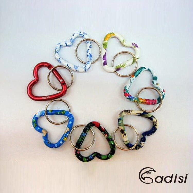 ADISI 5mm(小)心型鋁?環AS10069 / 城市綠洲專賣(鑰匙圈.背包鉤環.吊環.露營登山)