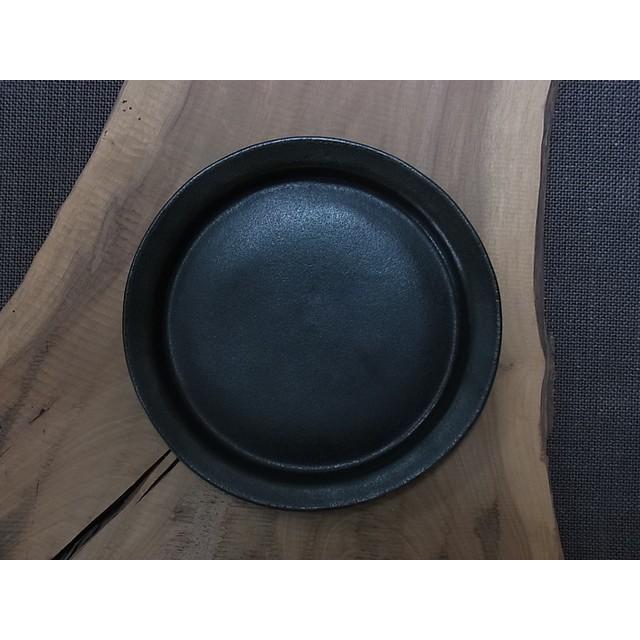 漆黒丸リム皿 L(大皿)