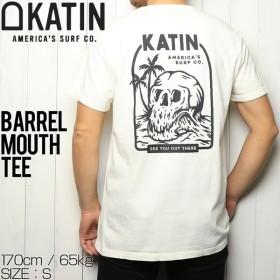 [クリックポスト対応] KATIN ケイティン BARREL MOUTH TEE  半袖Tシャツ TSBAR03
