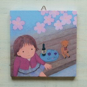 アートパネルNo.54「お花見日和」