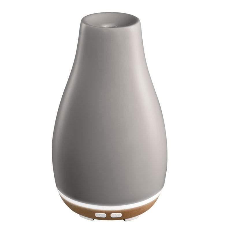 典雅陶瓷香氛水氧機 ARM-510 (灰色)-送精油三入組禮盒 ARM-510GY