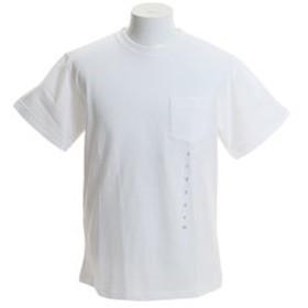 【Super Sports XEBIO & mall店:トップス】半袖 WATER LEAK ポケットTシャツ 01192128-WHITE