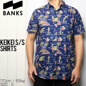 [クリックポスト対応] BANKS バンクス KEIKEI/S SHIRTS 半袖シャツ WSS0085