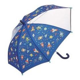 傘 子ども 男の子 50cm コスミックスター